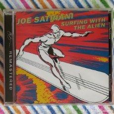 CDs de Música: JOE SATRIANI - SURFING WITH THE ALIEN CD NUEVO Y PRECINTADO - ROCK INSTRUMENTAL JAZZ FUSION. Lote 174195378