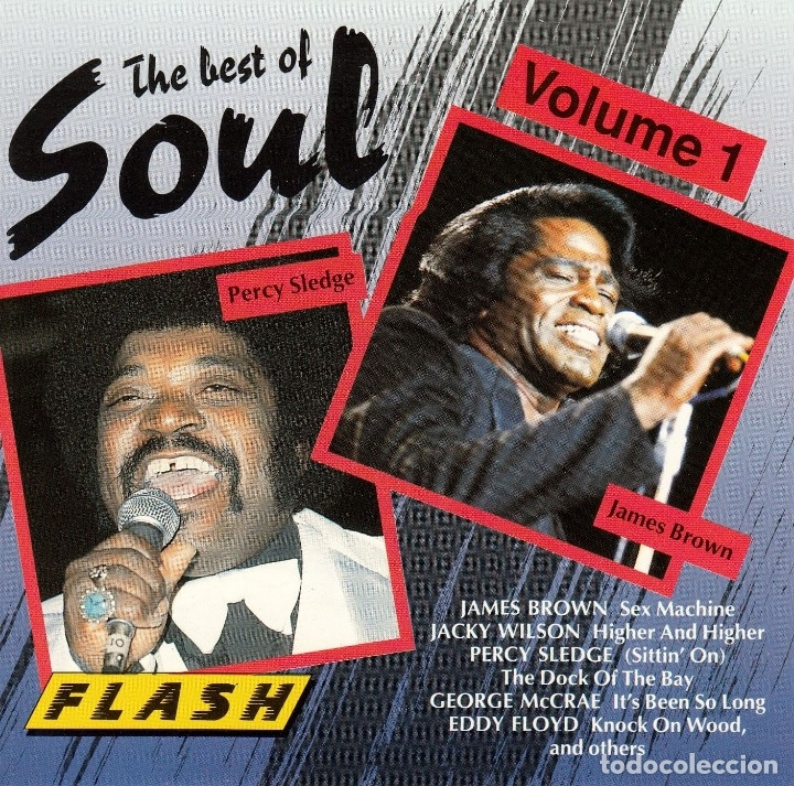 THE BEST OF SOUL VOL. 1 * CD * NUEVO * JAMES BROWN PERCY SLEDGE * RARE (Música - CD's Jazz, Blues, Soul y Gospel)
