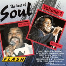 CDs de Música: THE BEST OF SOUL VOL. 1 * CD * NUEVO * JAMES BROWN PERCY SLEDGE * RARE. Lote 174195980