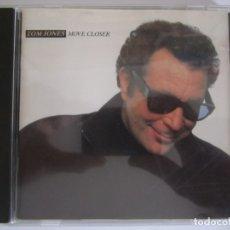 CDs de Música: CD TOM JONES MOVE CLOSER AÑO 1988. Lote 174216573