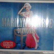 CDs de Música: MARILYN MONROE: DIAMONDS: CD DOBLE : PRECINTADO. Lote 173355308