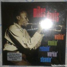 CDs de Música: MILES DAVIS: WALKIN, COOKIN, RELAXIN, WORKIN, STEAMIN: 5 CDS: PRECINTADO. Lote 173355425