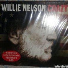 CDs de Música: WILLIE NELSON: CRAZY: CD DOBLE: PRECINTADO. Lote 173355435