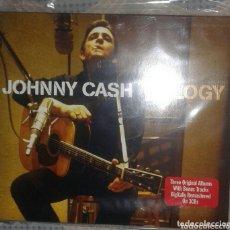 CDs de Música: JOHNNY CASH: ANTHOLOGY: CD TRIPLE: PRECINTADO. Lote 173355458