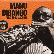 CDs de Música: MANU DIBANGO, 2 CD. AFRO-SOUL MACHINE. Lote 174240842