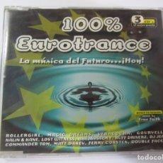 CDs de Música: CD 100% EUROTRANCE SINGLE CD PROMOCIONAL 5 TRACKS. Lote 174248857