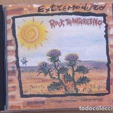 CDs de Música: EXTREMODURO - ROCK TRANSGRESIVO (CD) 1994 - 10 TEMAS - 1ª EDICION. Lote 174256417