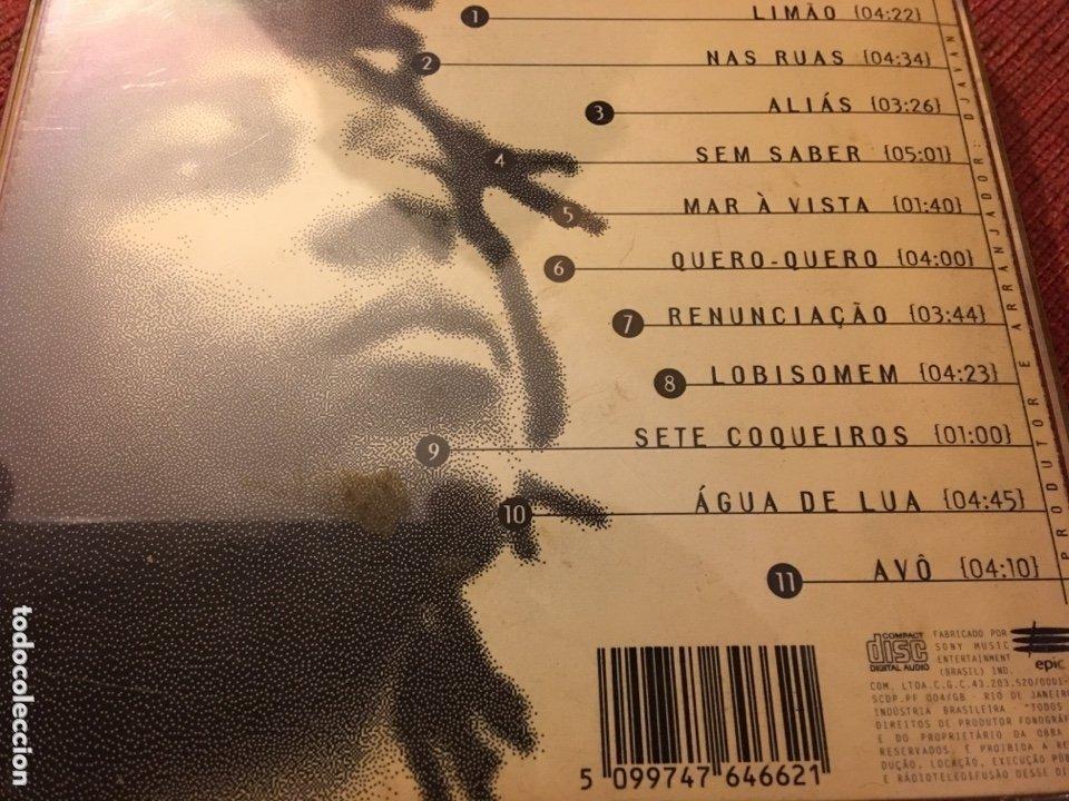 CDs de Música: Djavan - Novena (CD, Album) (Epic) 099747646621, 229.035 ED BRASIL - Foto 2 - 174263479