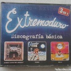 CDs de Música: EXTREMODURO, DISCOGRAFÍA BÁSICA, ¿DÓNDE ESTÁN MIS AMIGOS?, PEDRÁ, AGILA...2002.. Lote 174264140