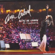CDs de Música: ANA GABRIEL 2 CD + DVD ALTOS DE CHAVÓN EL CONCIERTO 2013. Lote 174280833
