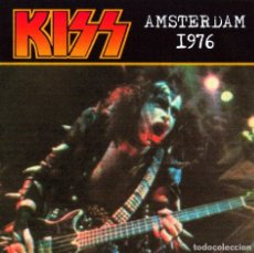 CDs de Música: KISS CD - AMSTERDAM 1976. Lote 174309770