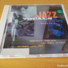 CDs de Música: ATLANTIC JAZZ VOCALS. VOICES OF COOL. VOL 1 (CD). Lote 174314114
