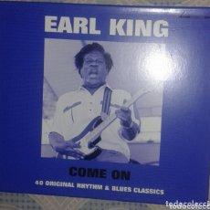 CDs de Música: EARL KING: COME ON: CD DOBLE. Lote 174314538