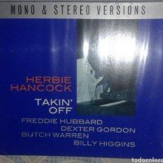 CDs de Música: HERBIE HANCOCK: TAKIN OFF: CD DOBLE. Lote 174315487