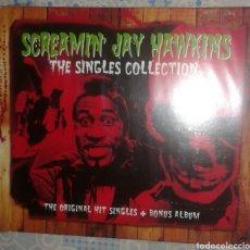CDs de Música: SCREAMIN JAY HAWKINS: THE SINGLES COLLECTION: CD DOBLE. Lote 174315909