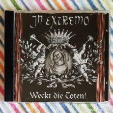 CDs de Música: IN EXTREMO - WECKT DIE TOTEN! CD - FOLK METAL. Lote 174328914
