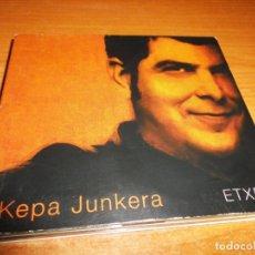 CDs de Música: KEPA JUNKERA ETXEA DOBLE CD ALBUM DIGIPACK EMILIO ARAGON LOQUILLO MIGUEL BOSE CARLOS CHAOUEN 2 CD. Lote 174336322