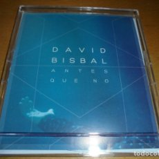 CDs de Música: RAR LIMITED EDITION SINGLE CD. DAVID BISBAL. ANTES QUE NO. POSTALES. 1 TRACK. UNIVERSAL. . Lote 174364604