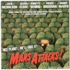 CDs de Música: DANNY ELFMAN - MARS ATTACKS! - CD. Lote 174373240