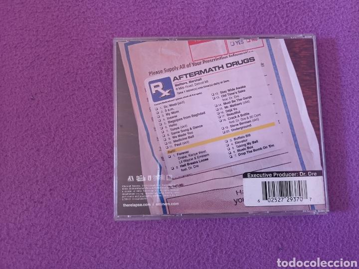 CDs de Música: OFERTA LIMITADA NAVIDAD CD EMINEM RELAPSE REFILL 2 DISCOS - Foto 2 - 109579503
