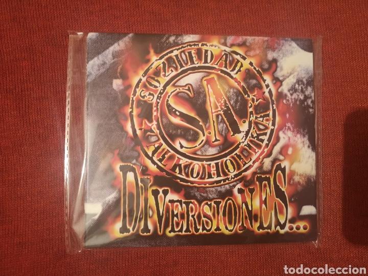 SOZIEDAD ALKOHOLIKA DIVERSIONES CD DIGIPACK (Música - CD's Rock)