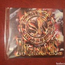 CDs de Música: SOZIEDAD ALKOHOLIKA DIVERSIONES CD DIGIPACK. Lote 155114838