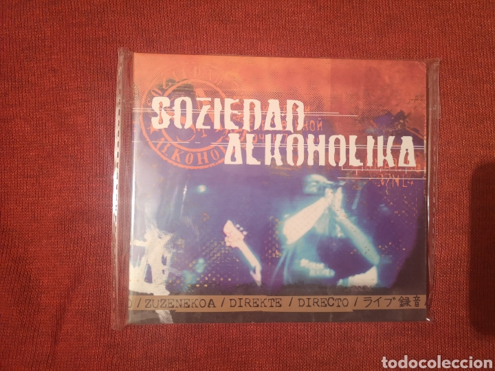 SOZIEDAD ALKOHOLIKA DIRECTO CD DIGIPACK (Música - CD's Rock)