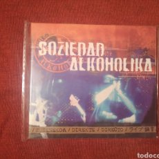 CDs de Música: SOZIEDAD ALKOHOLIKA DIRECTO CD DIGIPACK. Lote 155115458