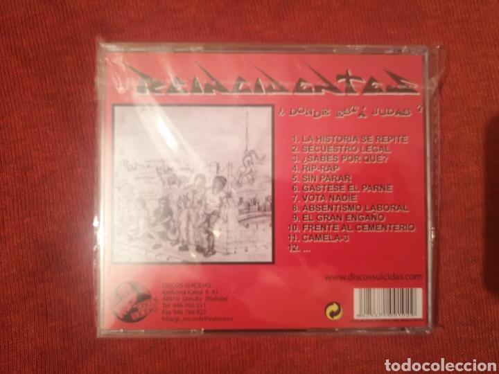 CDs de Música: LIQUIDACIÓN REINCIDENTES DÓNDE ESTÁ JUDAS CD NUEVO - Foto 2 - 145436378