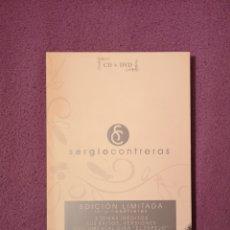 CDs de Música: SERGIO CONTRERAS EDICIÓN LIMITADA DVD+CD ÉXITOS, INÉDITOS, MAQUETAS, VIDEOCLIPS, ETC.. Lote 102398499