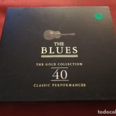 CDs de Música: THE BLUES. THE GOLD COLLECTION. 40 CLASSIC PERFORMANCES (2 CD). Lote 174391874