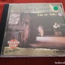 CDs de Música: JAZZ CUBANO. ESTO ES CUBA (CD). Lote 174392022