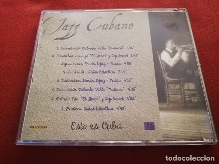 CDs de Música: JAZZ CUBANO. ESTO ES CUBA (CD) - Foto 3 - 174392022