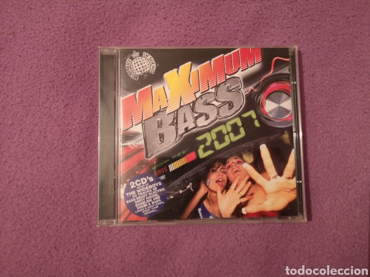 PEDIDO MÍNIMO 5€ MINISTRY OF SOUND MAXIMUM BASS 2007 2CDS MIXED BY WIDEBOYS, (Música - CD's Disco y Dance)