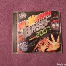 CDs de Música: PEDIDO MÍNIMO 5€ OFERTA NAVIDAD MINISTRY OF SOUND MAXIMUM BASS 2007 2CDS MIXED BY WIDEBOYS,. Lote 46939243
