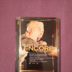 CDs de Música: SCOOTER ENCORE LIVE IN CONCERT 2DVD TECHNO H.P. BAXXTER. Lote 73554575