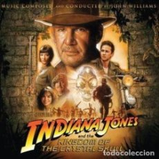 CDs de Música: INDIANA JONES AND THE KINGDOM OF THE CRYSTAL SKULL - JOHN WILLIAMS - CD . Lote 174402974