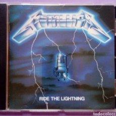 CDs de Música: METALLICA - RIDE THE LIGHTNING. Lote 174402999