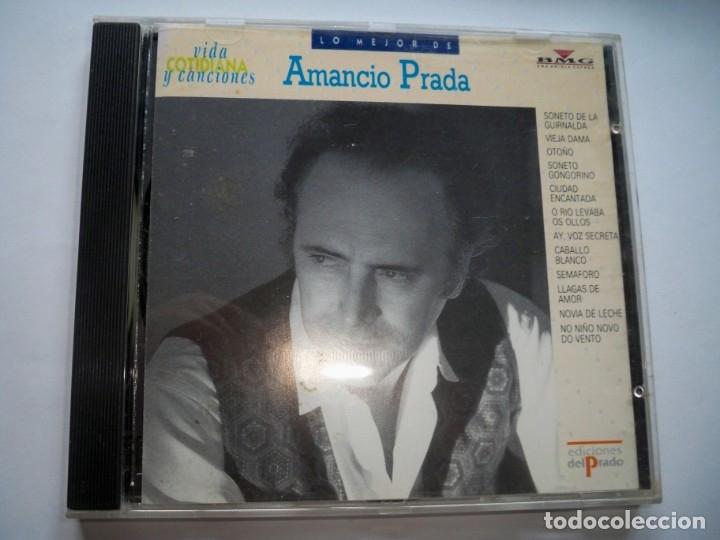 LO MEJOR DE AMANCIO PRADA (Música - CD's Melódica )
