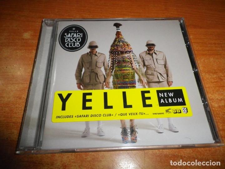 YELLE SAFARI DISCO CLUB CD ALBUM DEL AÑO 2011 EU CONTIENE 11 TEMAS ELECTROPOP FRANCIA MUY RARO (Música - CD's Techno)