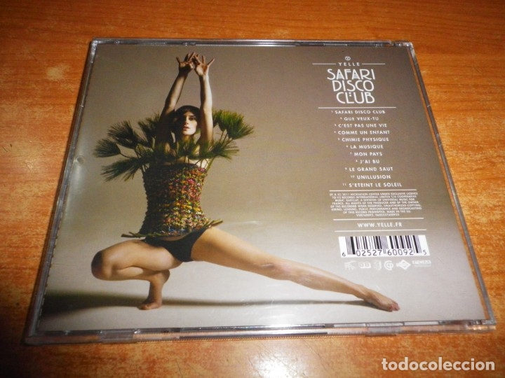CDs de Música: YELLE Safari disco club CD ALBUM DEL AÑO 2011 EU CONTIENE 11 TEMAS ELECTROPOP FRANCIA MUY RARO - Foto 2 - 174410199