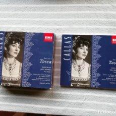 CDs de Música: MARIA CALLAS - PUCCINI - TOSCA - 2 CD,S - INCLUYE LIBRETO - ITALIA - EMI - S - . Lote 174412952