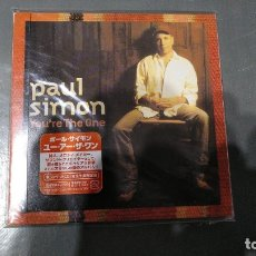 CDs de Música: PAUL SIMON - YOU´RE THE ONE - JAPAN CD - COMO NUEVO!!!. Lote 174417433