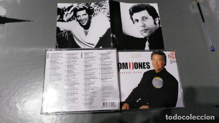 TOM JONES - GREATST HITS (SINGLES A´S & B´S SIDES) - 2 CD´S (Música - CD's Rock)