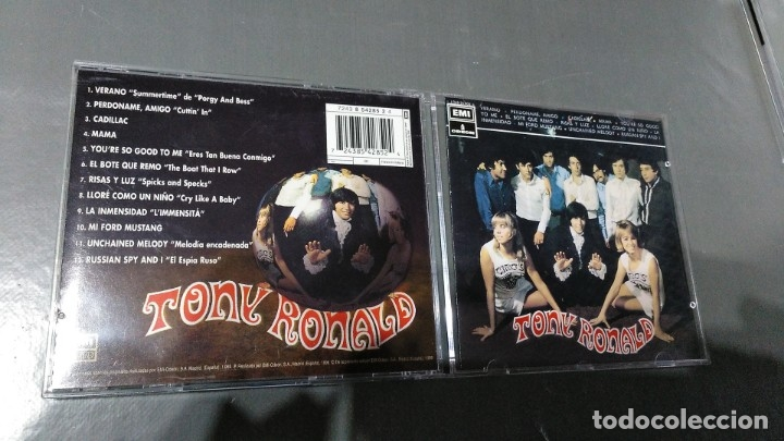 TONY RONALD - HISTORIA DE LA MUSICA POP - CD - NUEVO!!! (Música - CD's Rock)