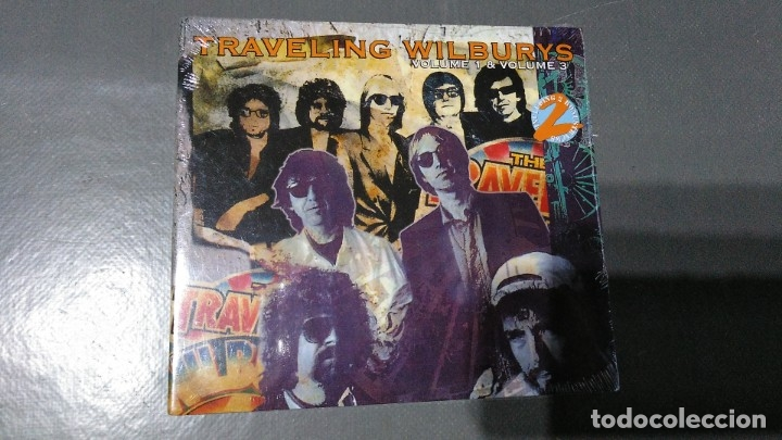 TRAVELING WILDBURYS - VOLUME 1 & 3 + 2 BONUS TRACKS - CD - PRECINTADO (Música - CD's Rock)