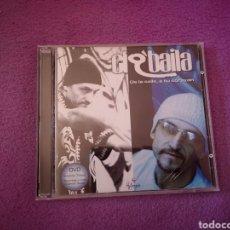 CDs de Música: LIQUIDACIÓN TOTAL EL Q' BAILA CD+DVD DE LA CALLE A TU CORAZÓN, MÚSICA LATINA. Lote 53820570