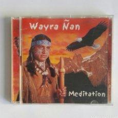 CDs de Música: WAYRA ÑAN MEDITATION CD MEDITACIÓN. Lote 174430737