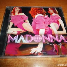CDs de Música: MADONNA HUNG UP CD MAXI SINGLE DEL AÑO 2005 USA CONTIENE 6 TEMAS. Lote 174438268