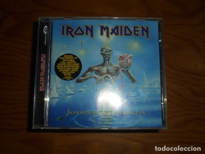 IRON MAIDEN. SEVENTH SON OF A SEVENTH SON. EMI, 1998. EDC. HOLLAND. CD. IMPECABLE (Música - CD's Heavy Metal)